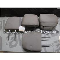 2010 - 2011 FORD F150 XLT CREWCAB OEM HEAD RESTS (BEIGE) SEATS OEM SET