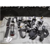 2007 2008 GMC 3500 2500 SLT SIERRA CREWCAB SEATBELTS (CHARCOAL) GREY COMPLET SET