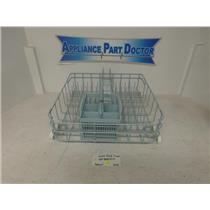 Admiral Dishwasher WP99002571 Lower Dish Rack, Blue With Basket Used