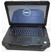 """14"""" HD Dell Latitude 5414 Rugged Extreme Intel i7 6th Gen 8GB WiFi BT Webcam DVD"""