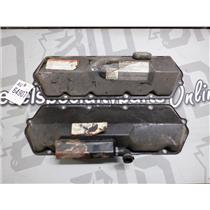 1996 FORD F350 F250 7.3 DIESEL VALVE COVERS (PAIR) OEM ENGINE W/ FILL CAP