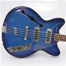 Jolana Rubin KolorBass Semi-Hollow Bass Guitar USSR Soviet Union #43800