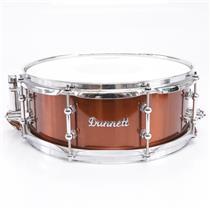 "Dunnett Classic 14""x5"" Bronze Stainless Steel Snare Drum #43875"