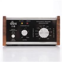 DBX 118 Dynamic Range Enhancer Expander Compressor #43866