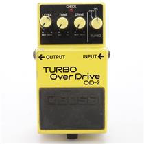 Boss OD-2 Turbo Overdrive Guitar Effects Pedal Japan #43424