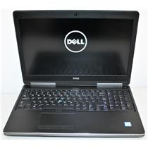 """15.6"""" 4K UHD Dell Precision 7510 Core i7 6th 16GB 512GB Intel NVidia 3840x2160"""