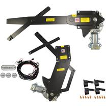 1955-1957 4DR Sedan Front & Rear Power Window Kit with FTFG Switches for Door