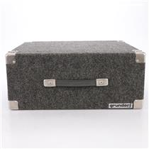 Grundorf 4U 4 Space Carpeted Travel Non-Shock Road Rack Case #44243