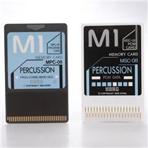 Korg MSC-8S / MSC-08 Percussion PCM Data Cards for Korg M1 #44171