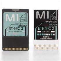 Korg MSC-13S / MSC-013 Ethnic 2 PCM Sound Data ROM Cards for the Korg M1 #44168