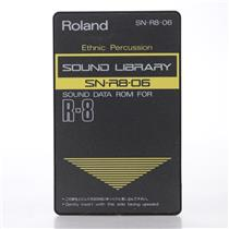 Roland SN-R8-06 Ethnic Percussion Sound Data ROM Card for Roland R-8 #44157