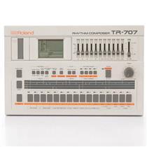 Roland TR-707 Rhythm Composer Drum Machine Serial Number 00003!  #43136