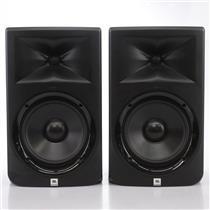 "JBL LSR-308 Two-Way 8"" Powered Studio Monitors #43777"