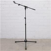 K&M 252 Telescoping Microphone Boom Stand w/ Mic Clip #44435
