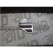 2008 - 2010 FORD F350 6.4 DIESEL XLT (DRIVERS SIDE) FENDER EMBLEM LEFT SIDE ONLY