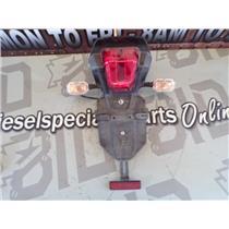2013 TRIUMPH EXPLORER TIGER 1200 OEM REAR BRAKE LIGHT SIGNALS PLATE HOLDER