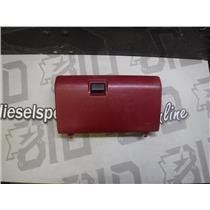 1995 - 1997 FORD F250 F350 XLT GLOVE BOX (RED) EXCELLENT CONDITION OEM