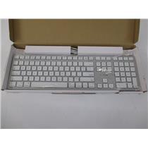 Cherry JK-1610US-1 Cherry KC 6000 Slim 110-Key Wired Keyboard for Mac - Silver