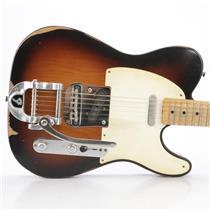 2003 Fender Telecaster Road Worn Guitar MIM Relic w/ Bigsby David Roback #44614