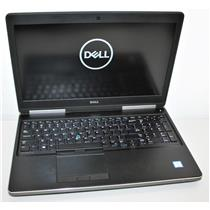 "15.6"" 4K UHD Dell Precision 7520 i7 7th 24GB 500GB Intel & Quadro M2200 Graphics"