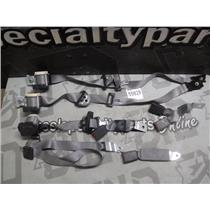 2008 - 2010 FORD F150 EXTENDED CAB OEM SEAT BELTS SET (GREY)