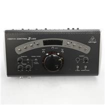 Behringer Xenyx Control2USB Studio Audio Interface Monitor Controller #44936