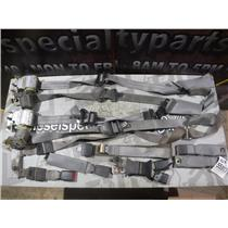 2003 - 2007 FORD F350 F250 XLT CREWCAB CREW CAB SEAT BELTS (GREY) OEM SET BELT