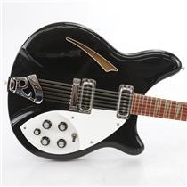 1992 Rickenbacker 360/12 Jetglo 12-String Electric Guitar w/ Case #45107