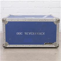 Anvil 4-Space 4U ATA Shockmount Blue Rack Case Owned By Doc Severinsen #45186
