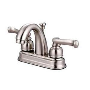 "Kingston Brass KB5618FL Royale 4"" Centerset Bathroom Sink Faucet - Satin Nickel"