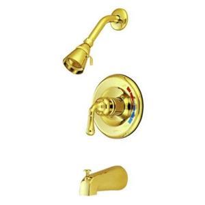 Tub & Shower Diverter Faucet Polished Brass KB632
