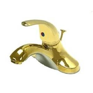 "Kingston Brass KB6542 Legacy 4"" Centerset Bathroom Sink Faucet - PVD Polished Brass"