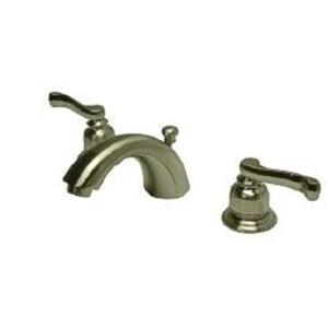 Kingston Brass KB8958FL Royale MiniWidespread Bathroom Sink Faucet - Satin Nickel