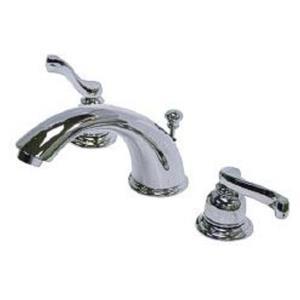 Kingston Brass KB8961FL Royale Widespread Bathroom Sink Faucet - Polished Chrome
