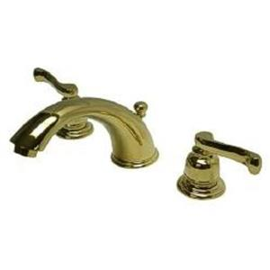 Kingston Brass KB8962FL Royale Widespread Bathroom Sink Faucet - PVD Polished Brass