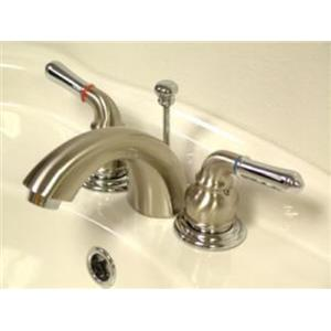Kingston Bathroom Sink Faucet Polished Nickel KB957