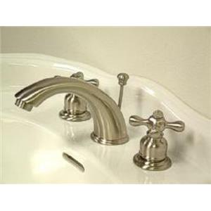 Kingston Brass KB978X Victorian Widespread Bathroom Sink Faucet - Satin Nickel