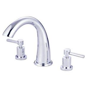 Kingston Brass KS2361DL Concord Roman Tub Filler With Lever Handle - Chrome