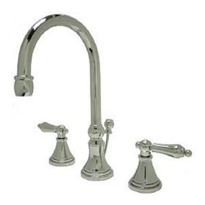 "Kingston Brass KS2981AL Governor 8"" Widespread Bathroom Sink Faucet - Polished Chrome"