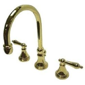 "Kingston Brass KS2982AL Governor 8"" Widespread Bathroom Sink Faucet - PVD Polished Brass"