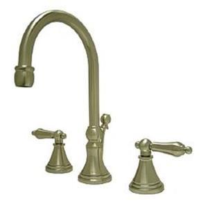 "Kingston Brass KS2988AL Governor 8"" Widespread Bathroom Sink Faucet - Satin Nickel"