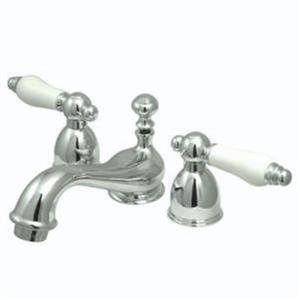 Kingston Bathroom Sink Faucet Polished Chrome KS3951PL