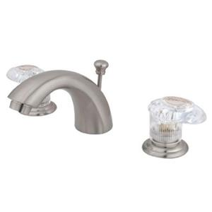 Kingston Bathroom Sink Faucet Satin Nickel KB958ALL