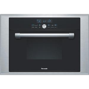 """Thermador 24"""" 1.4 cu. ft BLK Steam Convection Wall Oven Single Oven MES301HP IMG"""