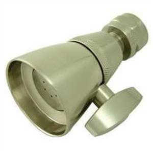 Kingston Brass Model# K131A8 Heritage Adjustable-Spray Solid Brass Shower Head - Satin Nickel