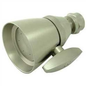 "Kingston Brass Model# K132A8 2-1/4"" Diameter Adjustable Shower Head - Satin Nickel"