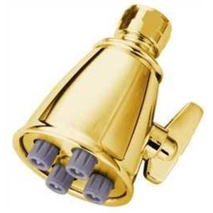 Kingston Brass Model# K137A2 4 Nozzle Power Jet Shower Head - Polished Brass