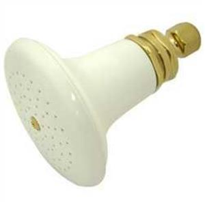 Kingston Brass Model# P50PB Victorian Colonial Ceramic Shower Head - PVD Polished Brass