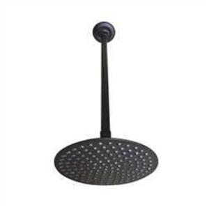 """Kingston Brass K236K25 Victorian 8"""" Shower Head with 17"""" Ceiling Support, Oil Rubbed Bronze"""