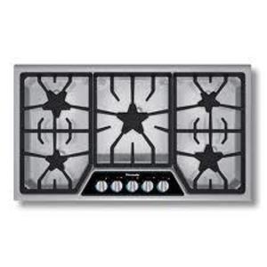 """Thermador Masterpiece Deluxe Series 36"""" SS 5 Star Burners Gas Cooktop SGSX365FS"""